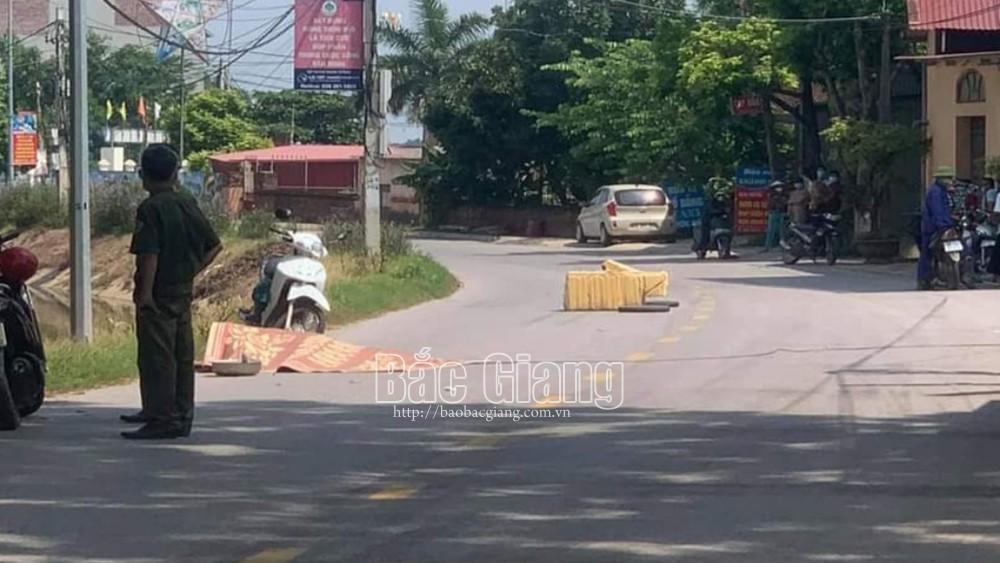 Bắc Giang:  xe máy, tự ngã, tử vong, Mỹ Thái