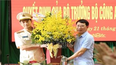 Thượng tá Đỗ Đức Trịnh giữ chức Phó Giám đốc Công an tỉnh Bắc Giang