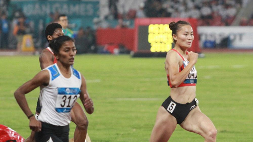 Vietnam, Olympic hope, star athlete, Quach Thi Lan, women's 400 m hurdles, women's 400 m hurdles
