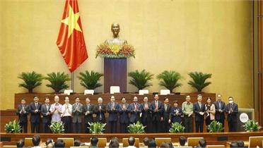 Bầu lãnh đạo các cơ quan của Quốc hội