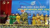 Hội Liên hiệp Phụ nữ huyện Việt Yên tổ chức Đại hội lần thứ XXIII