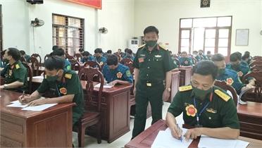 Bắc Giang: Nâng cao nhận thức pháp luật về dân quân tự vệ