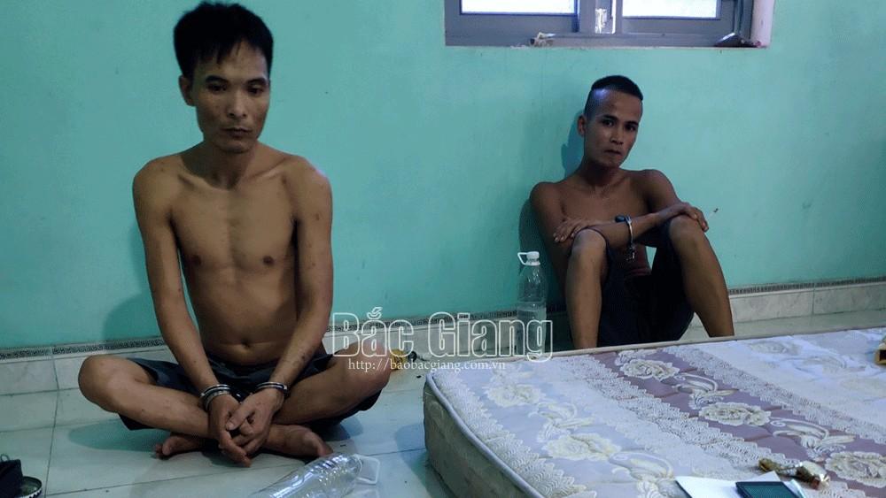 Công an Tân Yên, Bắc Giang, ma túy, Ổ nhóm ma túy