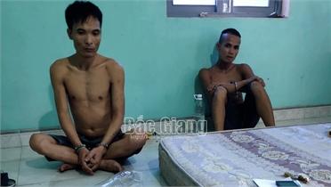 Bắc Giang: Triệt phá tụ điểm mua bán ma túy tại xã Song Vân