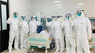 Bắc Giang:  Nhiều  sáng tạo trong điều trị bệnh nhân Covid -19