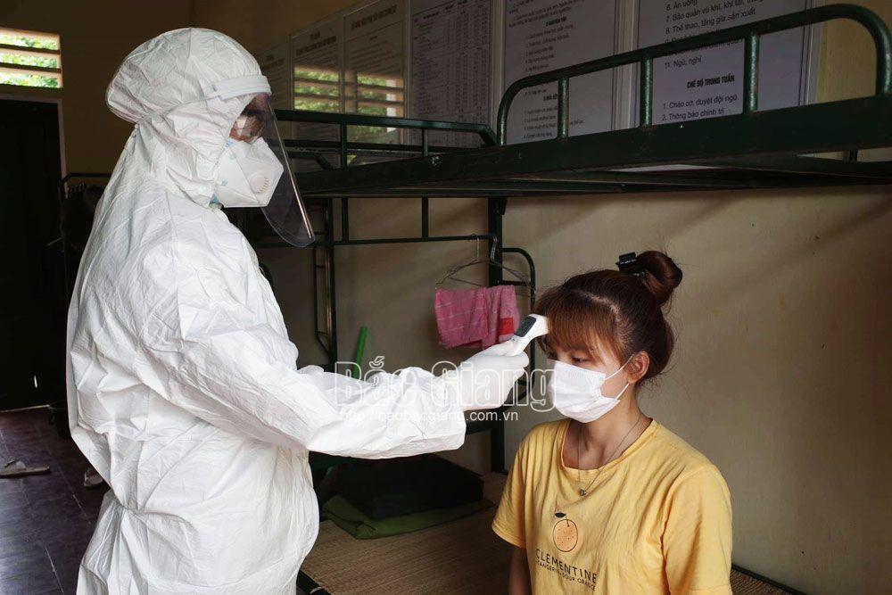 rà soát, bệnh nhân, phòng dịch, Covid-19, Bắc Giang.
