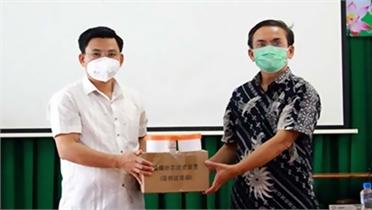 CDC Bắc Giang chuyển giao công nghệ sản xuất ống môi trường tại Đồng Tháp