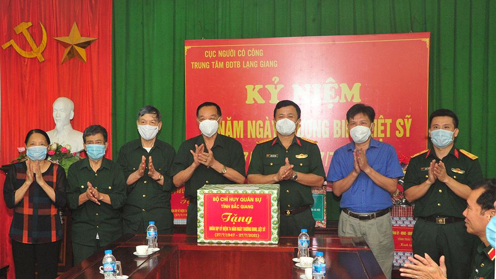 Thiếu tướng Nguyễn Đình Chiêu, Trung tâm điều dưỡng thương binh Lạng Giang