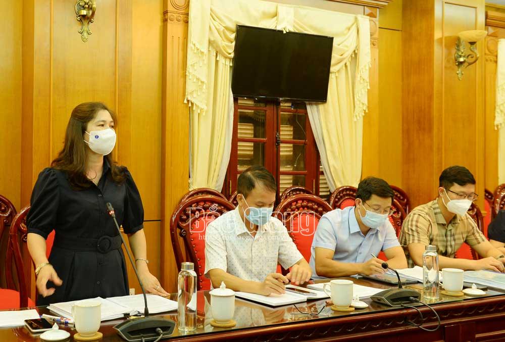 Bắc Giang, HĐND tỉnh, thẩm tra dự tảo nghị quyết, thẩm tra