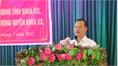Phó Chủ tịch Thường trực UBND tỉnh Mai Sơn tiếp xúc cử tri huyện Lục Ngạn