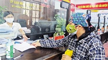 Giải quyết TTHC ở Việt Yên: Nêu cao trách nhiệm phục vụ