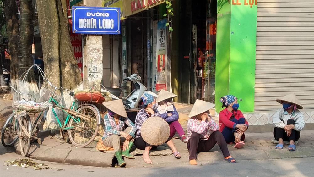 lao động tự do, xe ôm, bốc vác, Bắc Giang, tìm việc, thu nhập