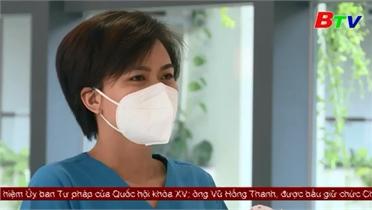 Video: Cán bộ y tế Bắc Giang hỗ trợ Bình Dương chống dịch
