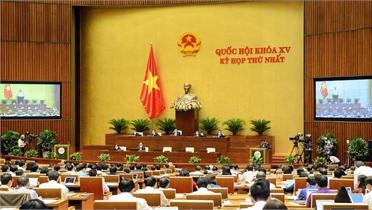 Thông cáo số 3 kỳ họp thứ nhất, Quốc hội khóa XV
