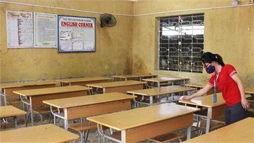 Bắc Giang: Chuẩn bị các điều kiện cho năm học mới 2021 - 2022