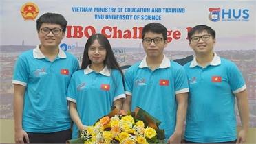 Thí sinh Việt Nam hoàn thành phần thi tại Olympic Sinh học quốc tế năm 2021