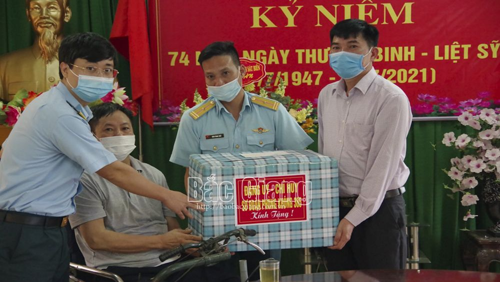 Bắc Giang, kỷ niệm ngày thương binh liệt sĩ