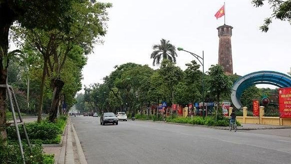 Hanoi, social distancing, Directive 16, Covid-19 pandemic, community transmission