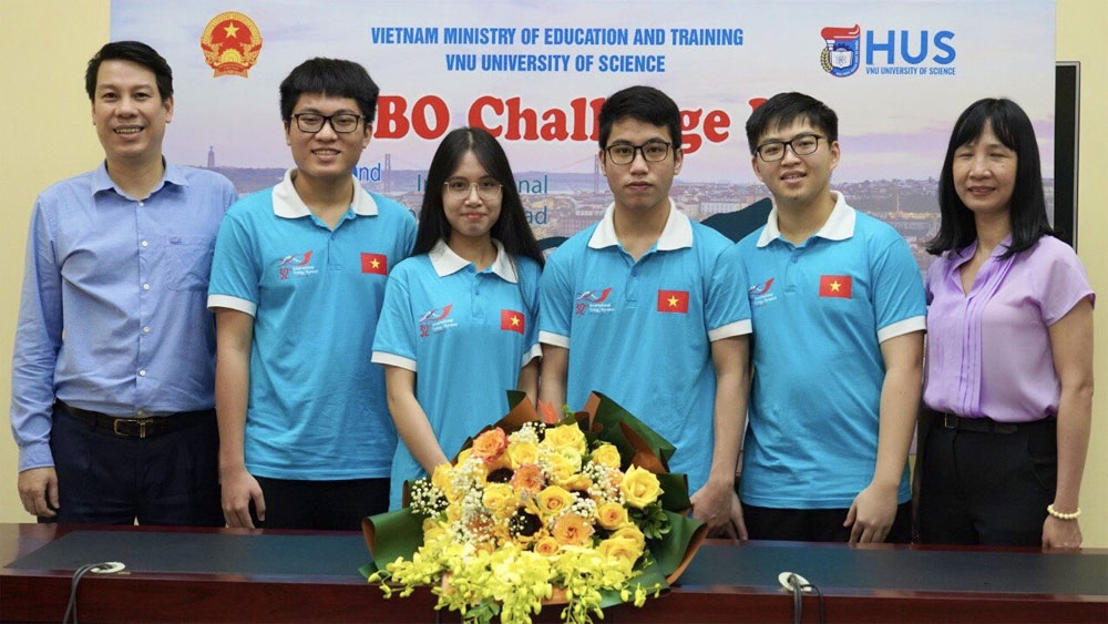 Vietnamese students, excellent results, international Physics, Biology and Mathematical Olympiads, Quality Management Department,
