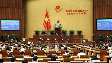 Quốc hội rút ngắn 3 ngày kỳ họp thứ nhất để tập trung chống dịch
