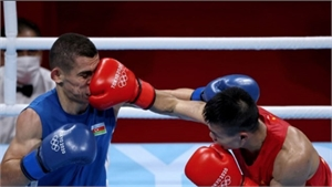 Võ sĩ Nguyễn Văn Đương quê Bắc Giang ra quân thắng lợi ở Olympic