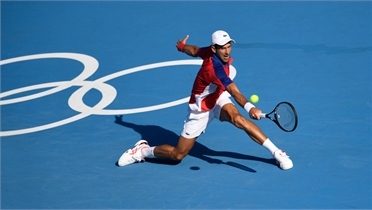 Djokovic thắng dễ vòng đầu Olympic