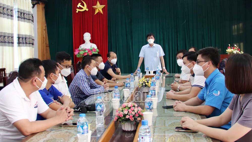 Bắc Giang, miền Nam, Việt Yên, ủng hộ, Covid-19.