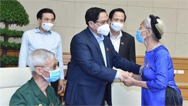 Trợ cấp ưu đãi hằng tháng với Bà mẹ Việt Nam Anh hùng là 4,872 triệu đồng