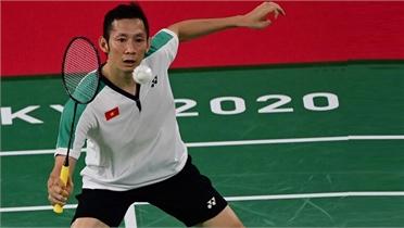 Tiến Minh thua trận đầu ở Olympic 2020