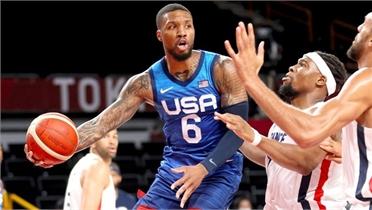 Bóng rổ Mỹ thua trận đầu ở Olympic sau 17 năm