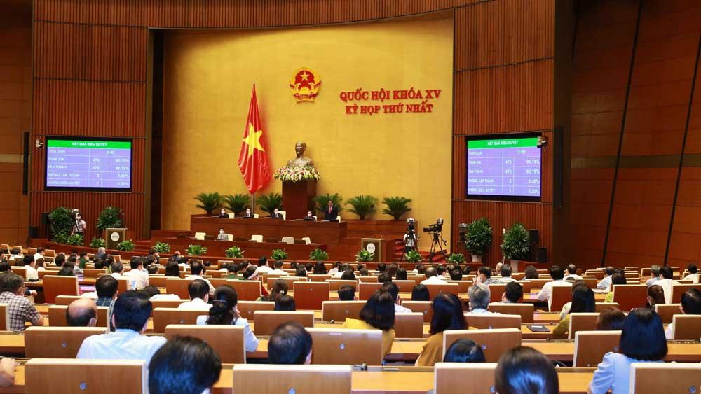 Hôm nay tiến hành quy trình bầu Chủ tịch nước và Thủ tướng Chính phủ