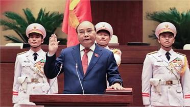 Đồng chí Nguyễn Xuân Phúc được bầu giữ chức Chủ tịch nước nhiệm kỳ 2021 - 2026