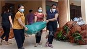 Sơn Động hỗ trợ nhu yếu phẩm trị giá gần 190 triệu đồng cho dân TP Hồ Chí Minh chống dịch