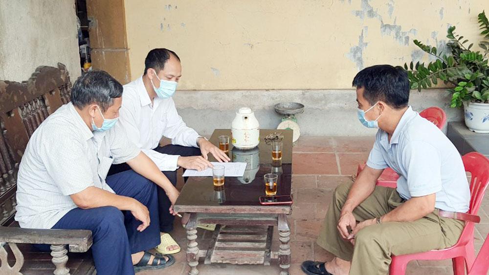 Hiệp Hòa, Bắc Giang, vai trò, trách nhiệm nêu gương, đảng viên