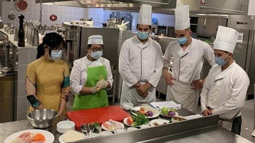 Vietnamese cuisine, promoted in Algeria, Vietnamese and Algerian cuisine, local cuisine, traditional dishes