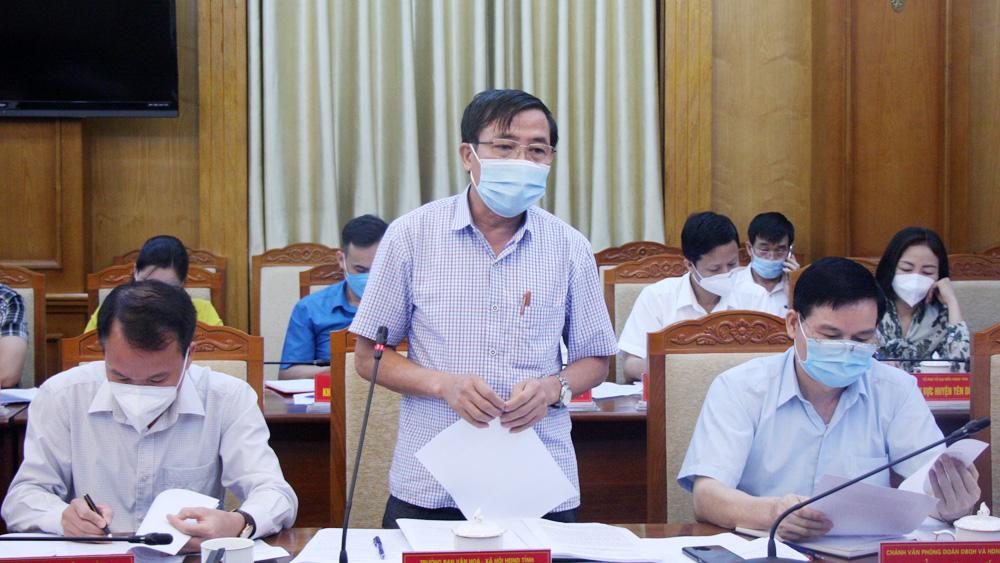 Bắc Giang, HĐND tỉnh, phiên họp thường kỳ, đồng chí Lê Thị Thu Hồng