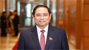 Đồng chí Phạm Minh Chính tiếp tục được giới thiệu để bầu làm Thủ tướng
