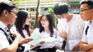 Phổ điểm thi tốt nghiệp THPT theo tổ hợp xét tuyển