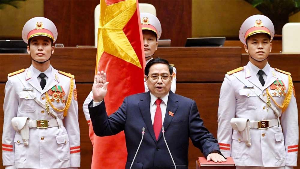 Đồng chí Phạm Minh Chính tiếp tục được bầu giữ chức Thủ tướng Chính phủ