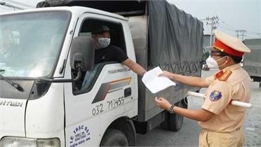 Bộ Y tế đề nghị công nhận xét nghiệm test nhanh Covid-19 với các tài xế chở hàng