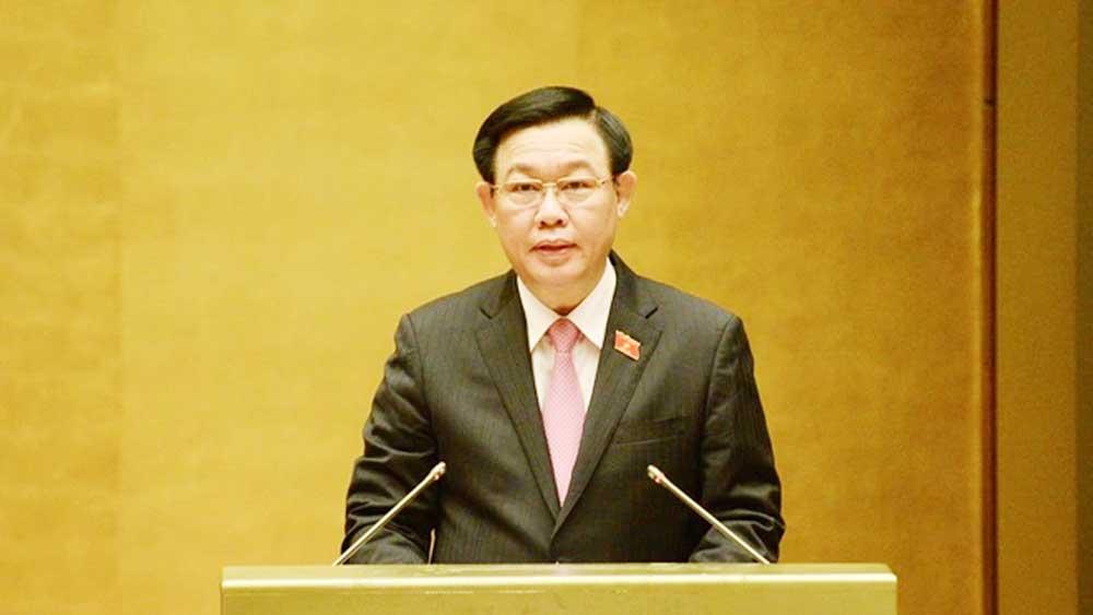 Chủ tịch Quốc hội Vương Đình Huệ, Thực hiện, chính sách ưu đãi, người có công, khối đại đoàn kết, dân tộc