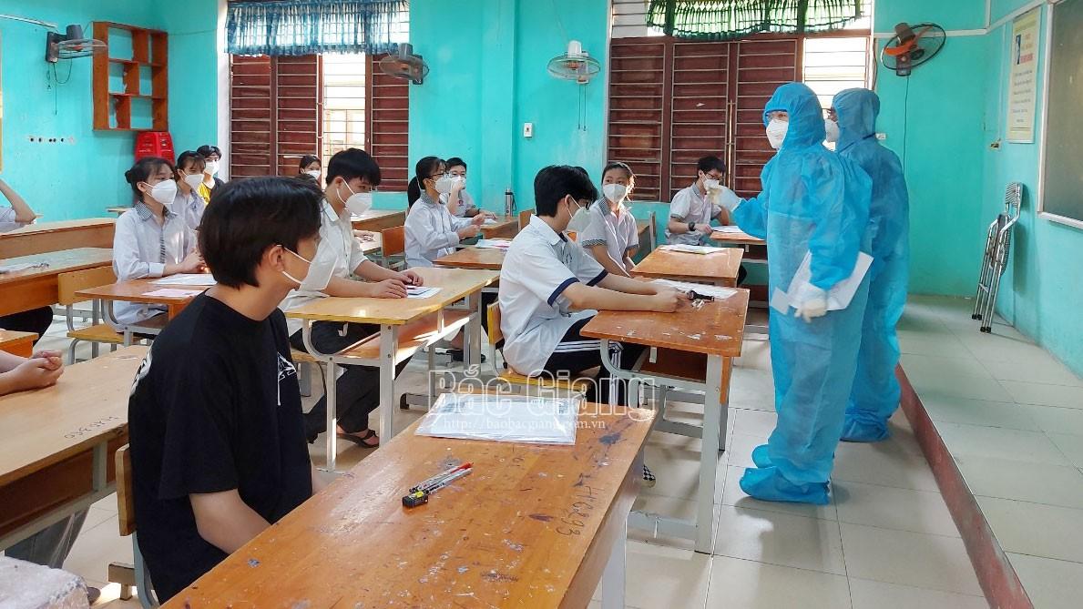 Covid-19, thi lớp 10, kỳ thi, Bắc Giang, giáo dục, tuyển sinh lớp 10, kỳ thi đặc biệt