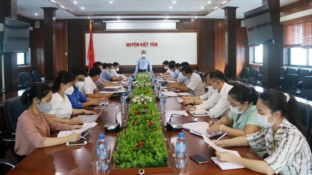 Bắc Giang, Việt Yên, bưu đện, bộ phận một cửa