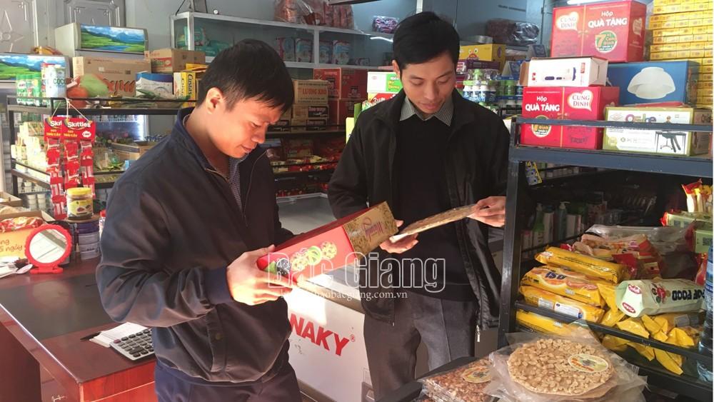 6 mẫu thực phẩm, sữa, các sản phẩm làm từ sữa, về sinh an toàn thực phẩm, vi phạm an toàn thực phẩm, Sở Công thương, Bắc Giang