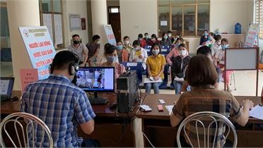 Bắc Giang giao dịch việc làm trực tuyến các tỉnh, thành phố khục vực miền Bắc