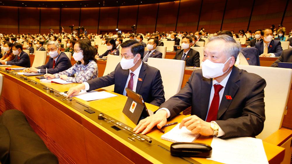 Hoạt động của Đoàn Bắc Giang tại kỳ họp thứ nhất, Quốc hội khóa XV