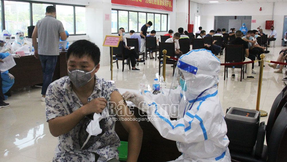 Bac Giang receives 8,300 more Covid-19 vaccine doses