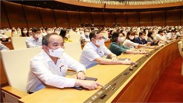 Thông cáo số 8, kỳ họp thứ nhất, Quốc hội khóa XV