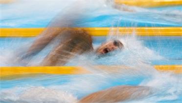Huy Hoàng thất bại ở vòng loại 800m tự do