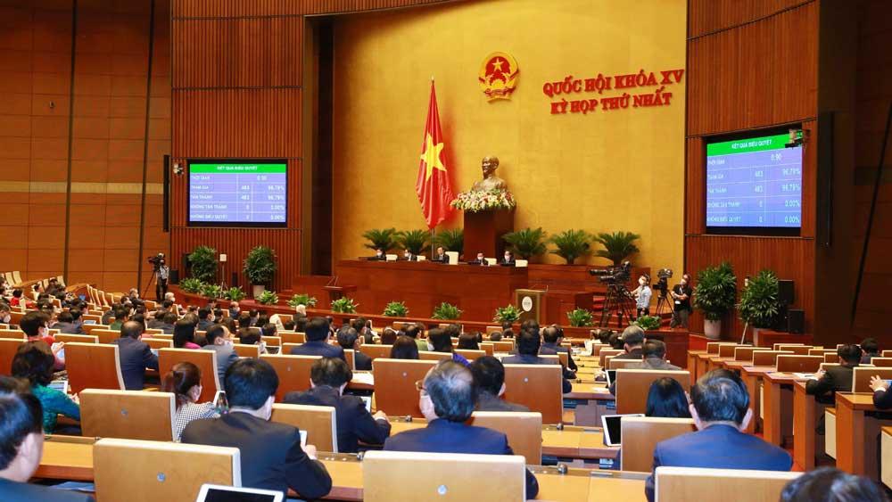 Chiều nay (28/7), kỳ họp thứ nhất, Quốc hội khóa XV bế mạc